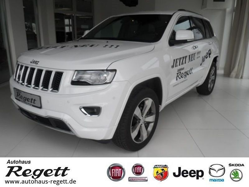 jeep grand cherokee 3 0i multijet overland navi ahk vorf hrwagen bei autohaus regett gmbh. Black Bedroom Furniture Sets. Home Design Ideas